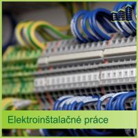 Elektroinštalácia – elektroinštalačné práce BMB s.r.o.